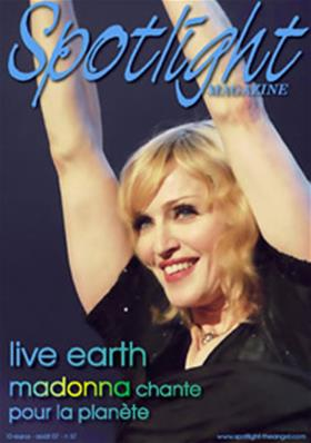 MAGAZINE SPOTLIGHT N° 37 - LIVE EARTH