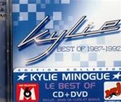 BEST OF KYLIE 1987-1992 / RARE CD & DVD FRANCE