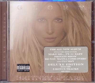 GLORY / BRITNEY SPEARS / CD 17 TITRES USA 2016