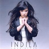INDILA / LOVE STORY / CD SINGLE PROMO 2014