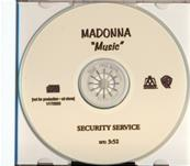MUSIC / CDS PROMO SECURITY SERVICE USA