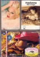 MADONNA - CASSETTES AUDIO VIDEO