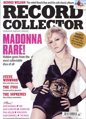 MAGAZINE RECORD COLLECTOR / UK JULY 2008