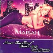 MARIAH CAREY / NEVER TOO FAR / CDS PROMO EUROPE 2001
