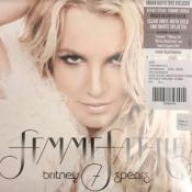 FEMME FATALE / BRITNEY SPEARS / LP 33 TOURS CLEAR VINYL WITH GOLD & WHITE SPLATTER / USA