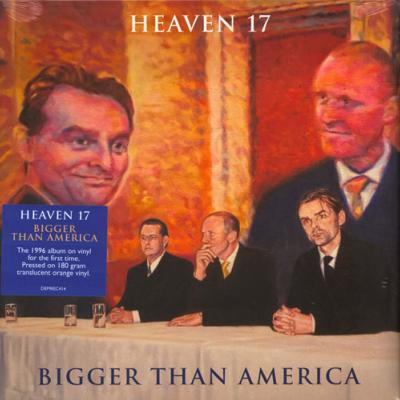 HEAVEN 17 / BIGGER THAN AMERICA / 33 TOURS LP VINYLE ORANGE / DISQUAIRE DAY 2019
